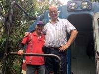 2017 03 25 Costa Rica Ausflug Zugfahrt mit Lokführer