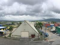 2017 03 14 Montego Bay Hafen vom Balkon aus