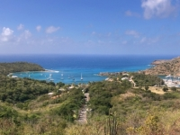 2017 03 19 Antigua English Harbour vom Dow Hill Fort George gesehen