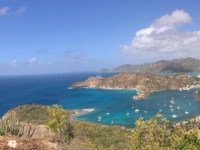 2017 03 19 Antigua English Harbour von Shirley Heights gesehen
