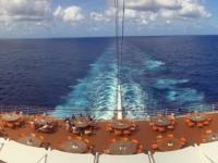 2017 03 22 Seetag AIDAmar vom Deck 12 aus