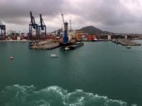 2017 03 23 Cartagena Kolumbien Hafeneinfahrt