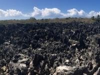 2017 03 27 Grand Cayman Vulkangestein bei der Hell