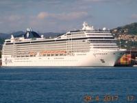 2017 04 29 Meine umgebaute MSC Orchestra liegt im Hafen von La Spezia