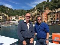 2017 04 30 Einfahrt in Portofino