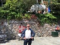 2017 04 30 Portofino Hafenmauer