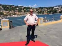 2017 04 30 Santa Margherita Längster roter Teppich der Welt