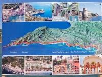 2017 04 30 Santa Margherita Verlauf des längsten roten Teppichs der Welt