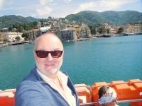 2017 04 30 Wir verlassen Rapallo wieder mit dem Schiff