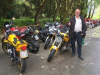 2017 05 01 Montecarlo Ducati Treffen im gleichen Weingut