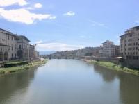 2017 05 01 Florenz von der Brücke Ponte Vecchio