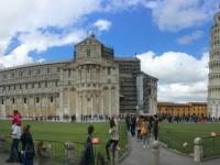 2017 05 01 Pisa schiefer Turm mit 2 x Gerald
