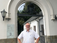Eingang Schloss Miramare