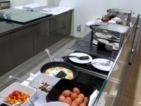 Auch Spiegeleier und Omeletts sind zu haben