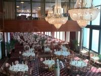 Besichtigung Grand Hotel Bernardin Speisesaal