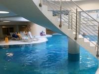 Riesige Poollandschaft im Hotel Slovenja