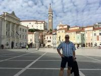 2017 05 10 Piran Stadtplatz mit Kirche