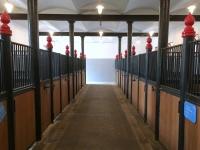 Saubere Stallungen