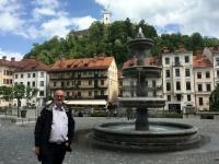2017 05 12 Ljubliana Blick auf die Burg