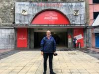 2017 06 06 Bilbao Auffahrt mit dem Schrägaufzug