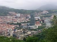 2017 06 06 Bilbao Blick vom Hausberg Bilbaos Artxanda