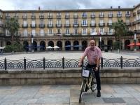 2017 06 06 Bilbao Plaza Nueva mit dem Rad