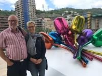 2017 06 06 Guggenheim Museum mit Kunstblume 1