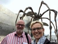 2017 06 06 Guggenheim Museum mit Kunstspinne