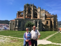 2017 06 07 Castro Urdiales Kirche Santa Maria 1