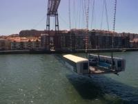 2017 06 05 Biscaya Brücke in Bilbao