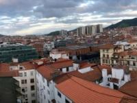 2017 06 06 Über den Dächern von Bilbao aus dem 12 Stock