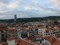 2017 06 06 Über den Dächern von Bilbao von der Hotel Dachterrasse