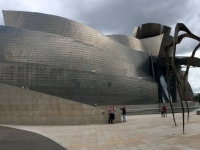 2017 06 06 Guggenheim Museum mit Kunstspinne 1