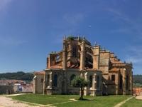 2017 06 07 Castro Urdiales Kirche Santa Maria