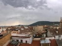 2017 06 08 Pamplona vom Hotelzimmer aus gesehen