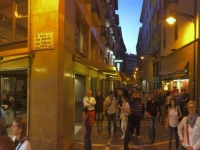 2017 06 09 Pamplona bei Nacht 1