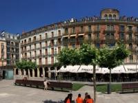 2017 06 10 Pamplona Stadtplatz