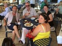 2017 06 12 Insel Lipari Mittagessen Reiseleiterteam