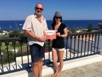 2017 06 12 Insel Stromboli Blick auf Mittelmeer