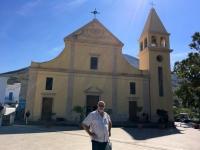 2017 06 12 Insel Stromboli Kirche am Berg oben