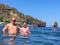 2017 06 12 Insel Vulcano Perfektes Erfrischungsbad