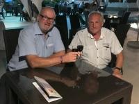 2017 06 13 Hotelbar mit Ludwig Schwiegervater von Kollegin Simone