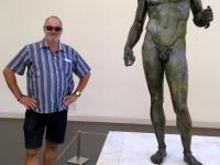 2017 06 13 Reggio Calabria Berühmte Bronzestatue im Nationalmuseum