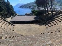 2017 06 12 Insel Lipari Burg mit Theater