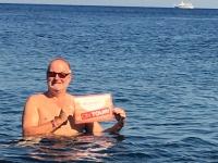 2017 06 12 Insel Stromboli Abkühlung Mittelmeer Reisewelt on Tour