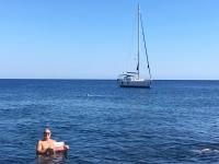 2017 06 12 Insel Stromboli Abkühlung Reisewelt on Tour