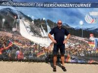 2017 07 31 Oberstdorf Schisprungschanze Werbeplakat