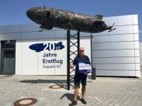 2017 08 01 Erste Zeppelinfahrt Friedrichshafen am Bodensee Eingang