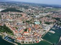 2017 08 01 Erste Zeppelinfahrt Friedrichshafen am Bodensee mit wunderschönem Ausblick