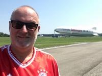 2017 08 01 Erste Zeppelinfahrt Friedrichshafen am Bodensee unser Zeppelin
